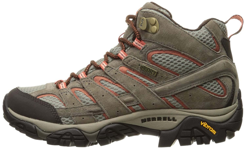 Merrell Women's Moab 2 Mid Waterproof Hiking Boot B01HFL9372 15 B(M) US Bungee Cord