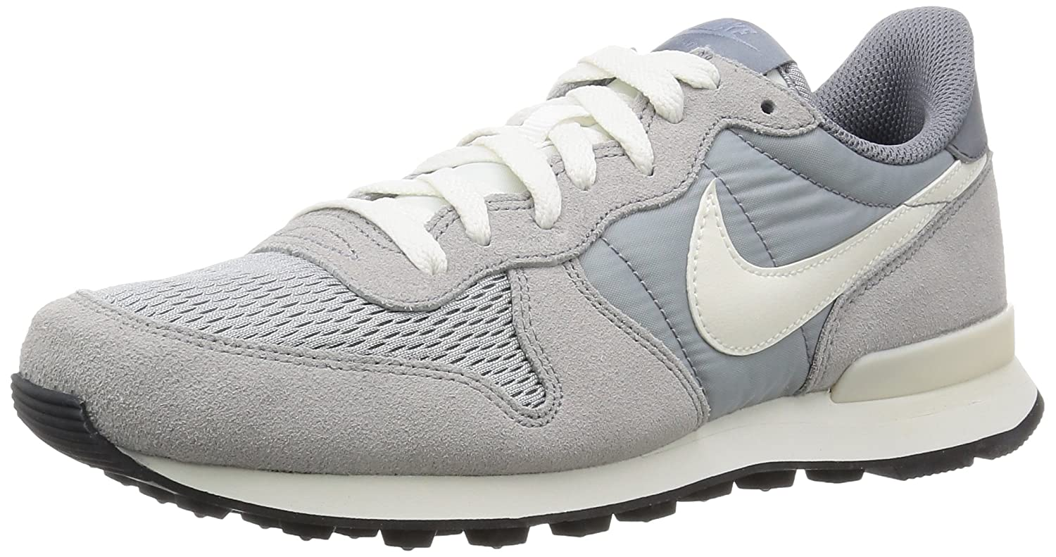 Nike Herren Internationalist Sneakers  39 EU|Grau (015 Wolf Grey/Sail-sail)