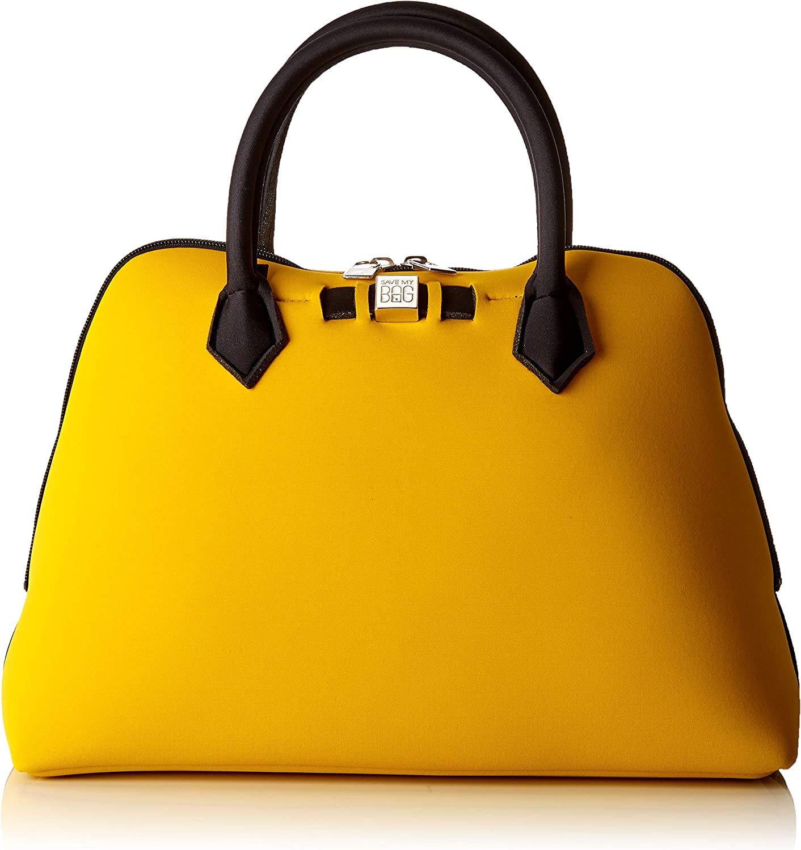 SAVE MY BAG Princess Midi, Bolso de mano. para Mujer, amarillo, 36x26x16 centimeters (W x H x L)