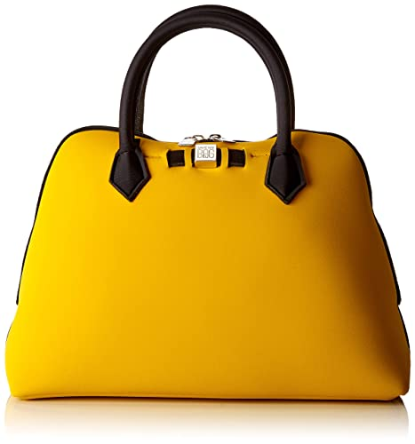 SAVE MY BAG - Princess Midi, Bolsos de mano Mujer, Amarillo (Rabat)