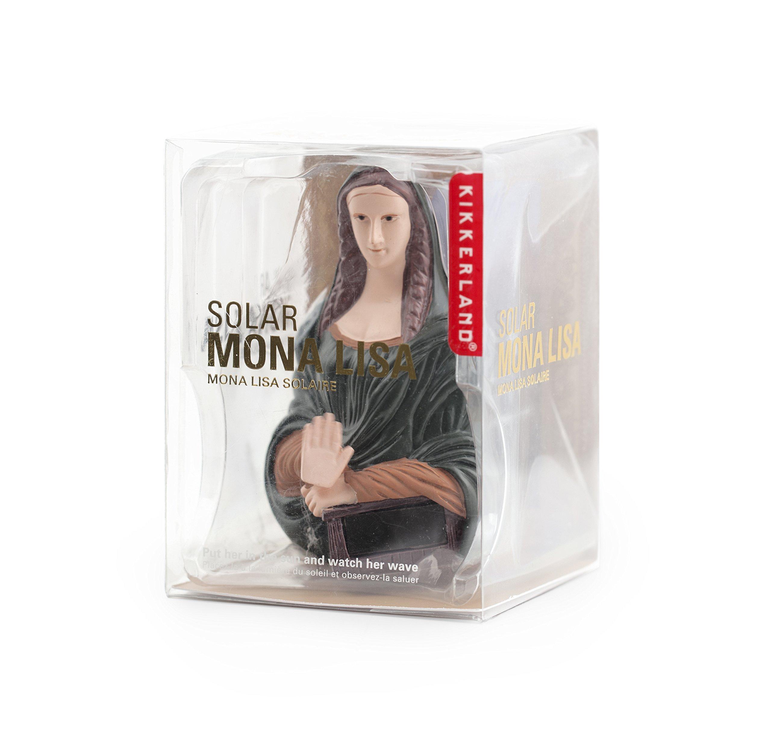 Kikkerland Solar Mona Lisa