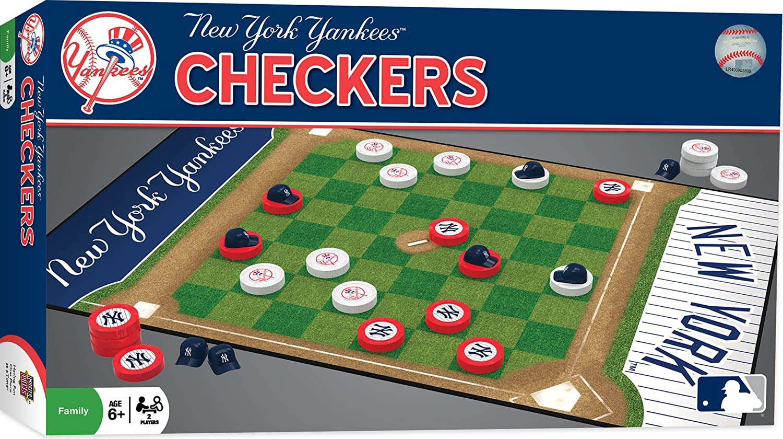 MasterPieces Obras maestras MLB Damas Junta Juego - MASBBCHICCH, Puzzle Co MLB Chicago Cubs Tablero, Gris: Amazon.es: Deportes y aire libre