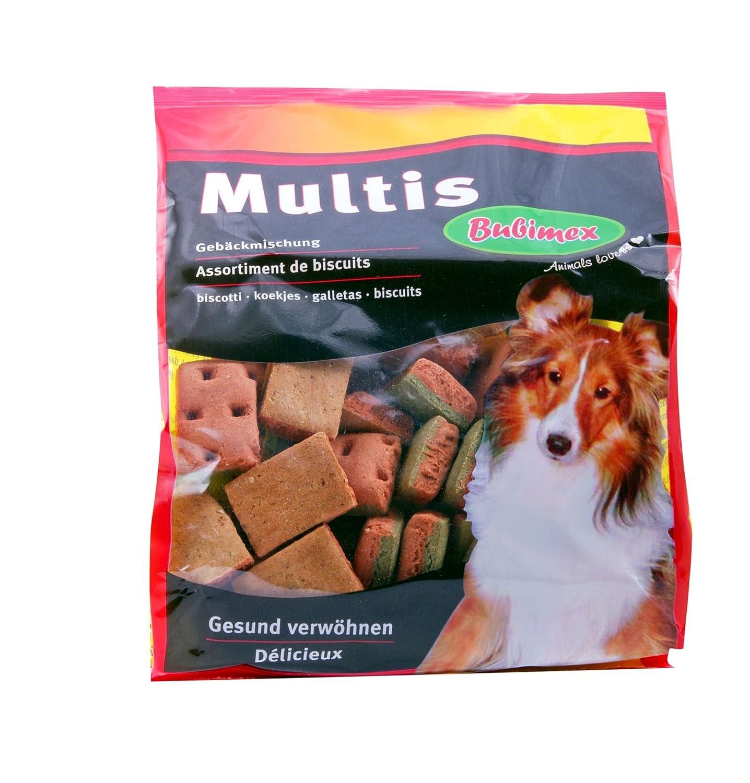 bubimex Multi Assorti Biscuits pour Chien 500 g - Lot de 2 621