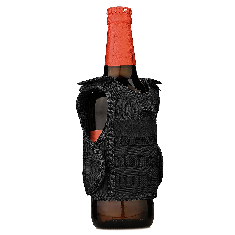 Selighting Fundas para Bebidas Mini Molle Chaleco de Cerveza para Enfriador de Bebidas T/áctico Militar  Desmontable Botella Soporte DIY Decoraci/ón KTV para Bar,Fiesta,Picnics