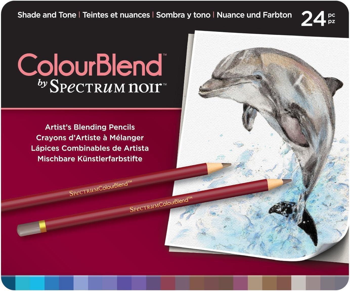 Lapices Spectrum Noir (24 colores) set Shade and Tone