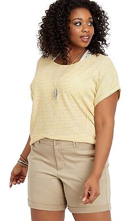 99b4c160307 maurices Women s Plus Size Khaki Chino 7