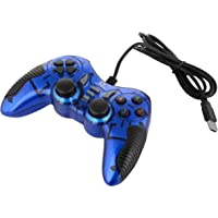 Live Tech GP 01 Turbo Double Vibration Game Pad (Blue)