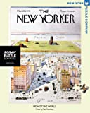 New York Puzzle Company - New Yorker View of the World - 1000 Piece Jigsaw Puzzle