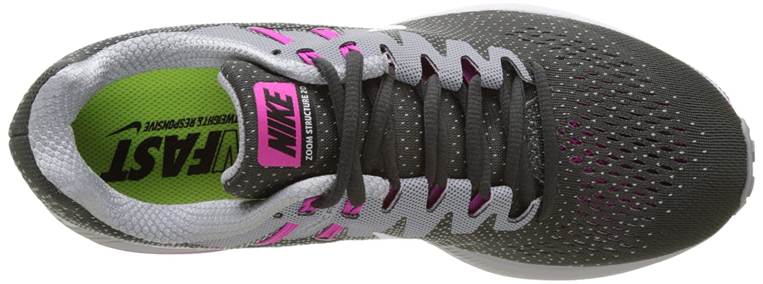 san francisco 5389e 43d90 Amazon.com   Nike Women  s WMNS Air Zoom Structure 20 Running Shoes   Road  Running