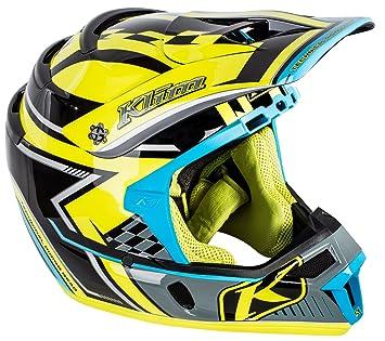 Klim ECE Mens F4 Motocross Motorcycle Helmet - Legacy Voltage / Large