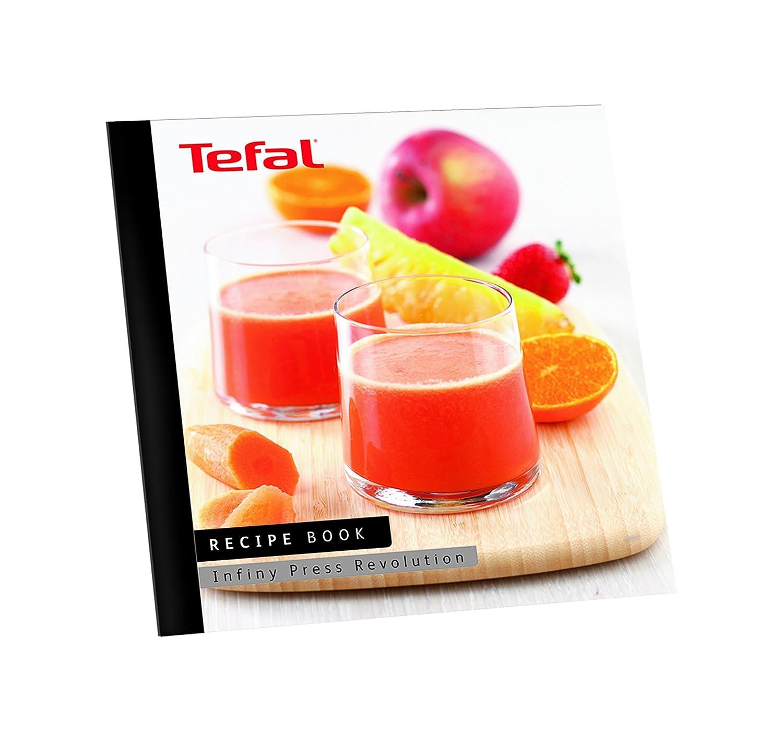 Tefal Infiny Press Revolution ZC500H - Exprimidor (Aluminio, Negro, Rojo, Acero inoxidable, Acero inoxidable): Amazon.es: Hogar