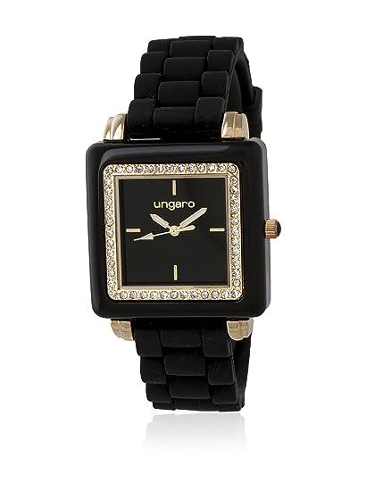 Ungaro Reloj Preziosa Negro