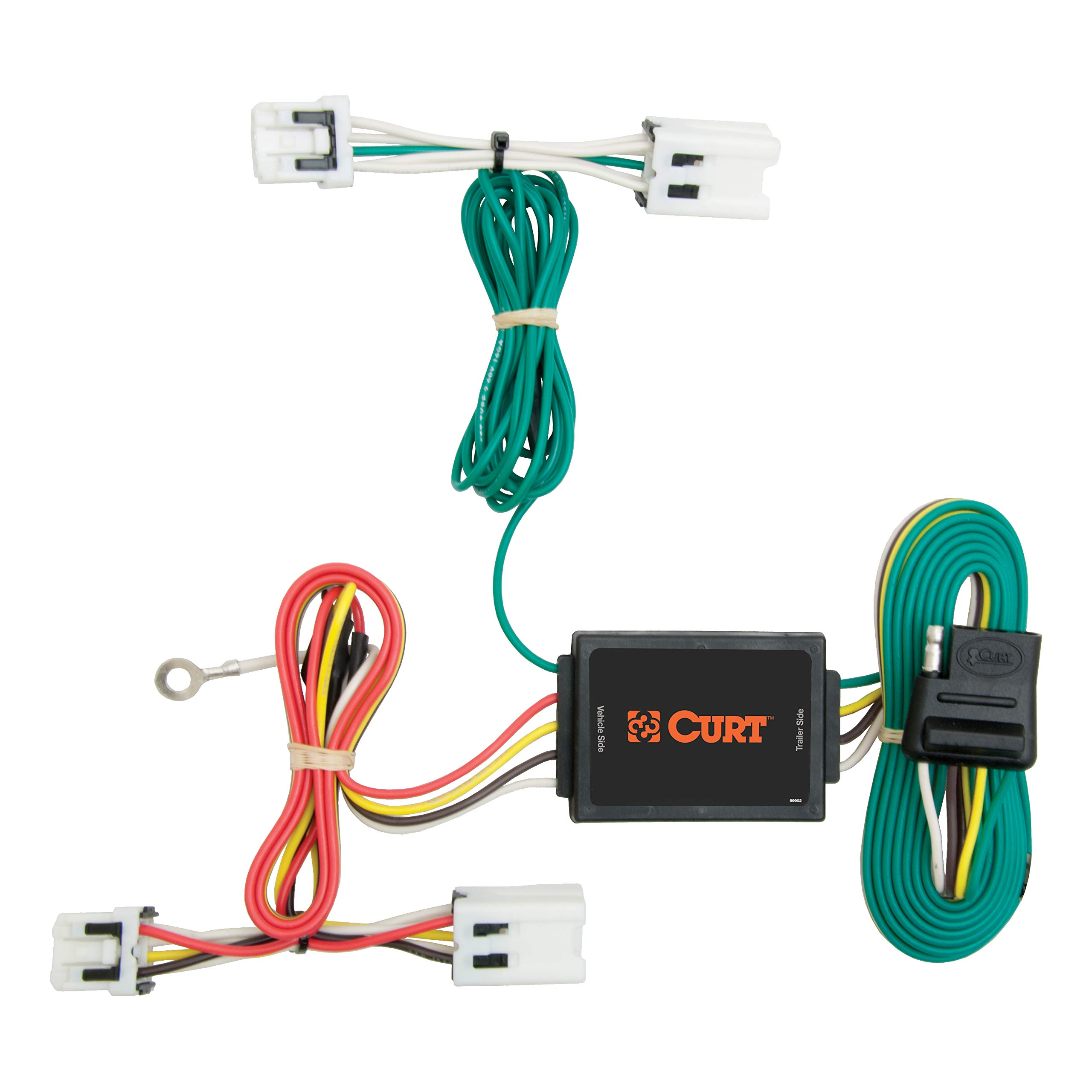 CURT 56124 Vehicle-Side Custom 4-Pin Trailer Wiring Harness for Select Nissan Juke by CURT