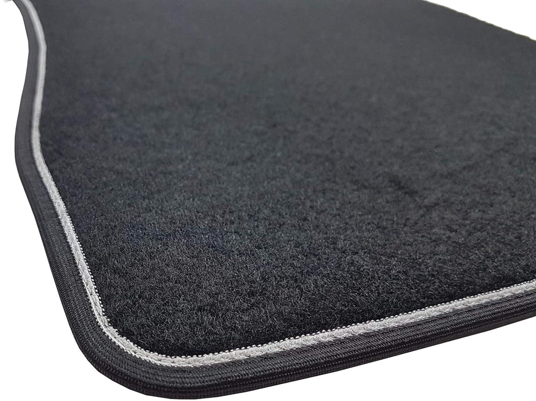 Antara Captiva. Das Teppich Auto verst/ärkter Rand Absatzschoner aus Gummi sprint03403 zweifarbig Fu/ßmatten Teppiche Schwarz rutschfest