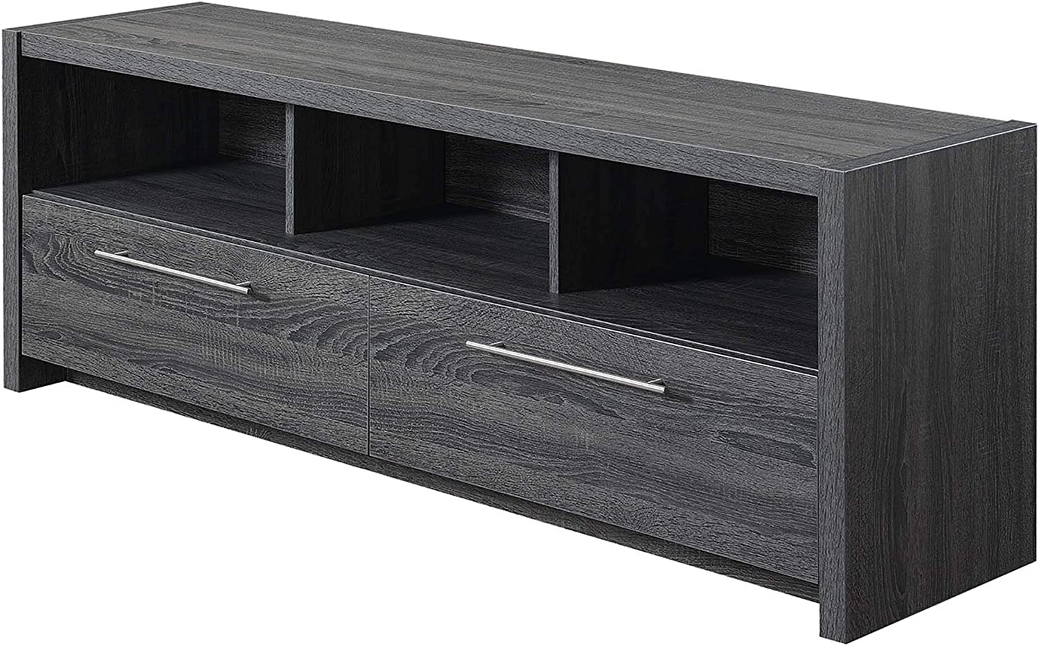 """Convenience Concepts Newport Marbella 60"""" TV Stand, Weathered Gray"""