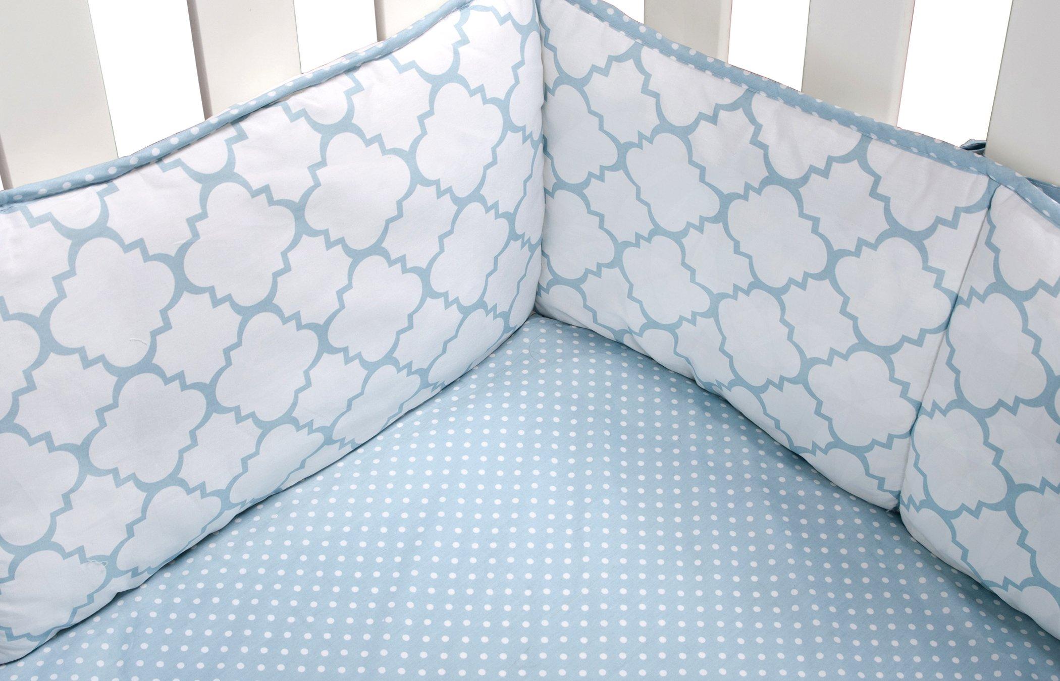 Amazon.com : Trend Lab Blue Sky 3 Piece Crib Bedding Set : Baby