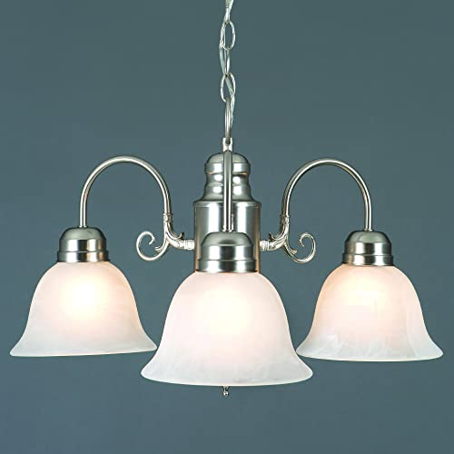 Yosemite Home Decor 1433-3SN Manzanita 3 Light Chandelier