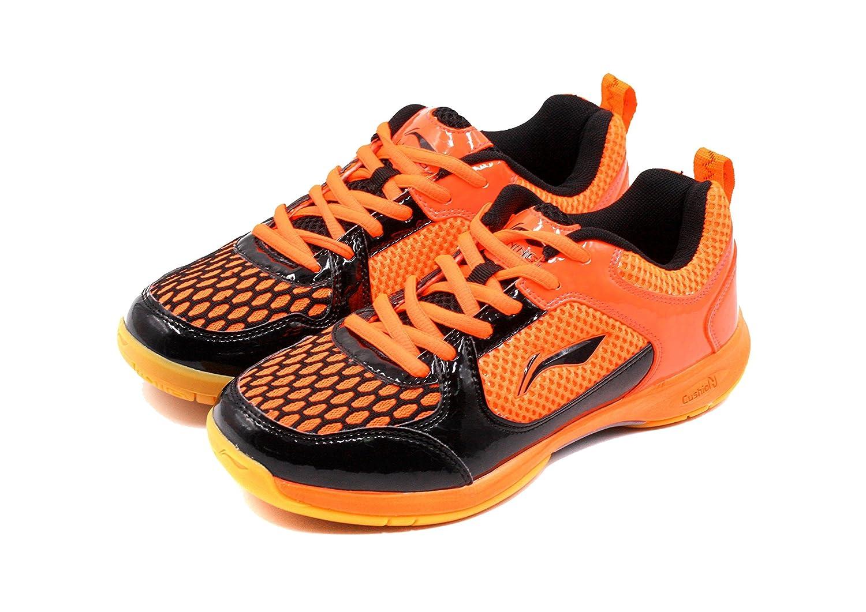 Li Ning Smart Badminton Sports schuhe Orange schwarz