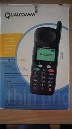 Qualcomm Kyocera QCP 860 Vintage Cell Phone Verizon Carrier