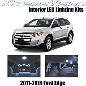 XtremeVision LED for Ford Edge 2011-2014 (10 Pieces) Cool White Premium Interior