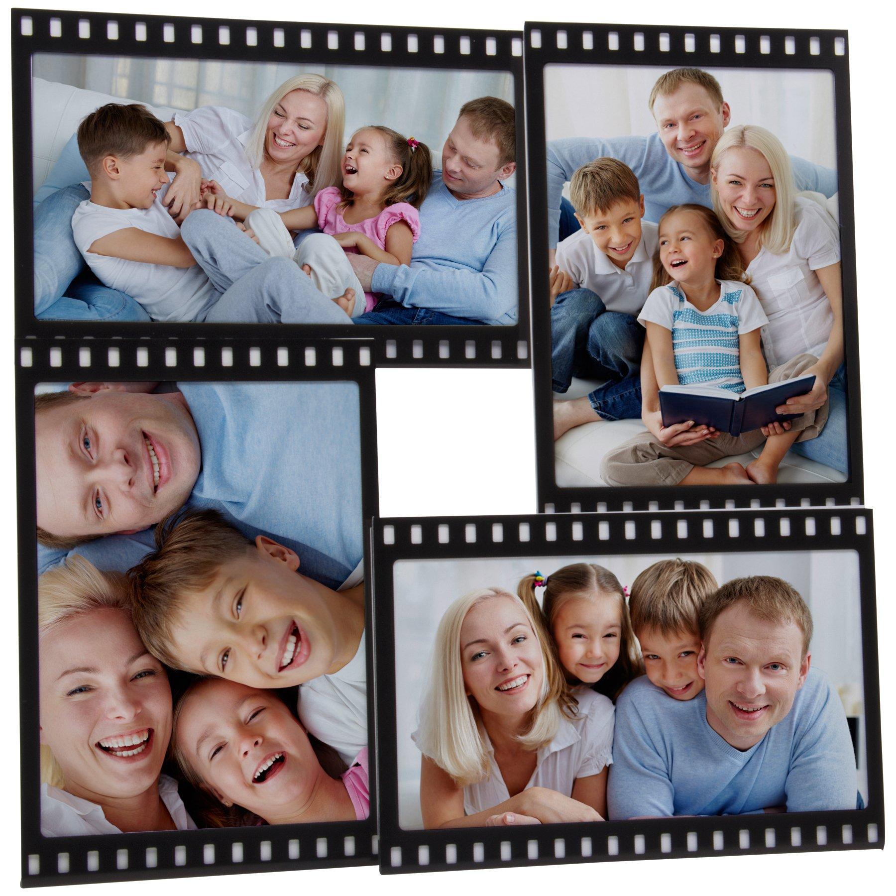 Neil Enterprises, Inc 4x6 Filmstrip Picture Frame - Holds 4 Photos