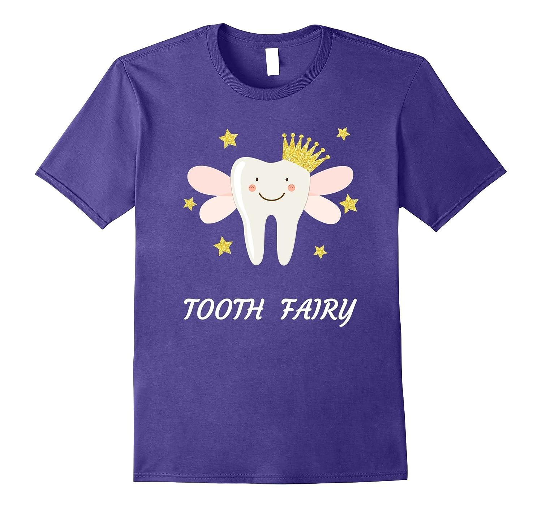 Tooth Fairy Fun Gift Shirt, Lights-FL
