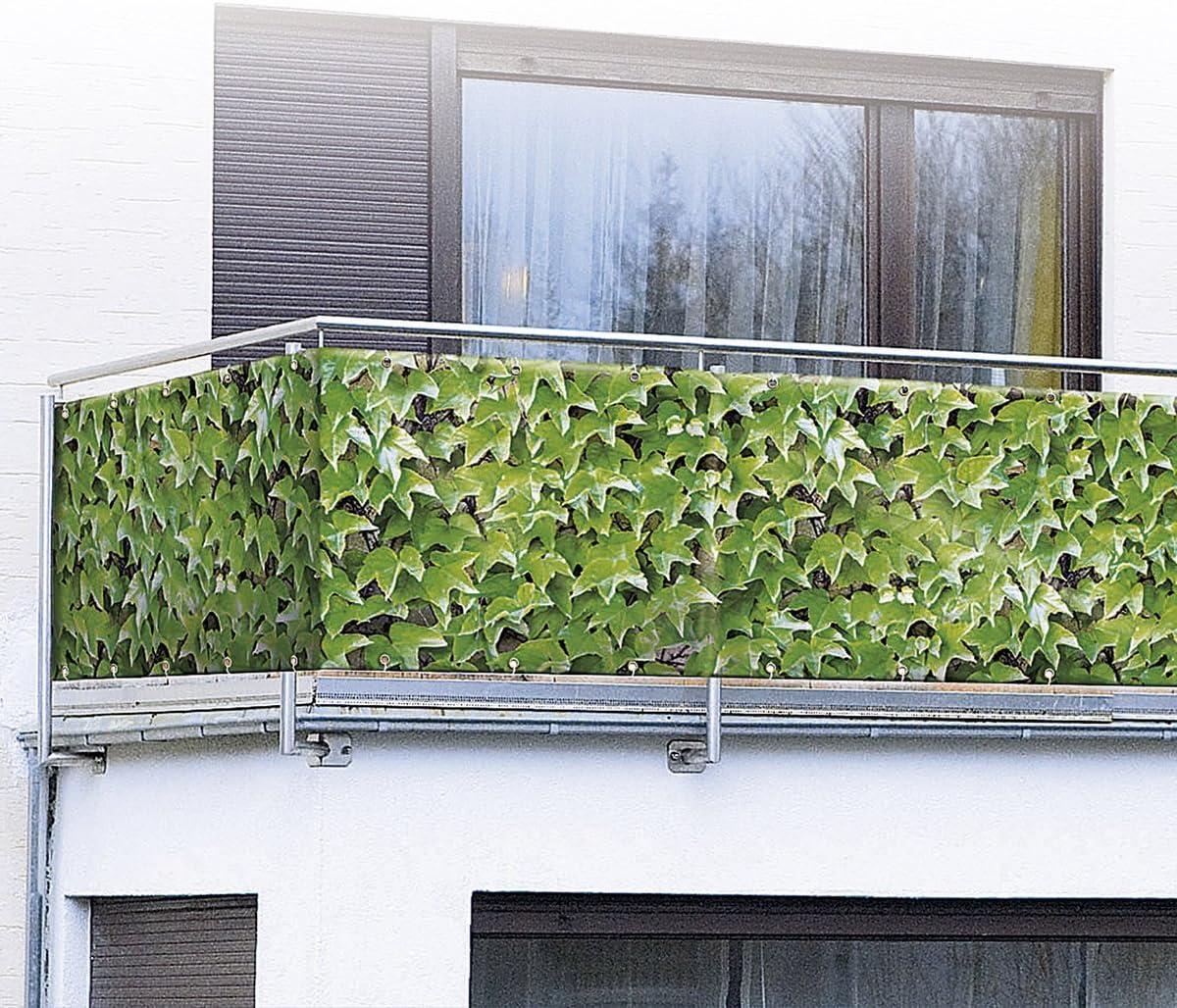 Wilder Wein 5 m Sichtschutz Windschutz Balkonschutz Balkonsichtschutz WENKO