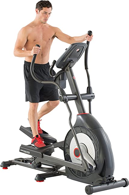 side facing schwinn series elliptical machine