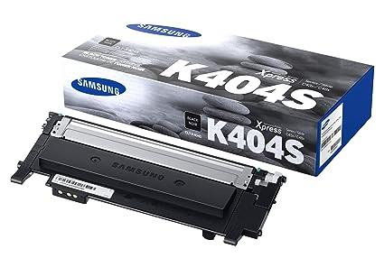 Amazon.com: Samsung CLT-K404S/ELS C404K Toner black, 1000 ...