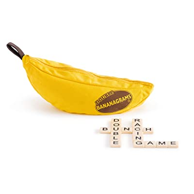 Double Bananagrams Word Game - For Up To 16 Players: Toys & Games