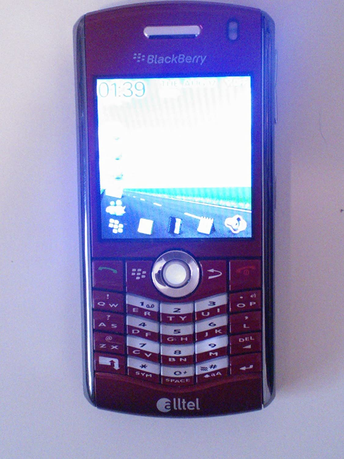 Amazon.com: BlackBerry Pearl 8130 Red - Alltel: Cell Phones & Accessories