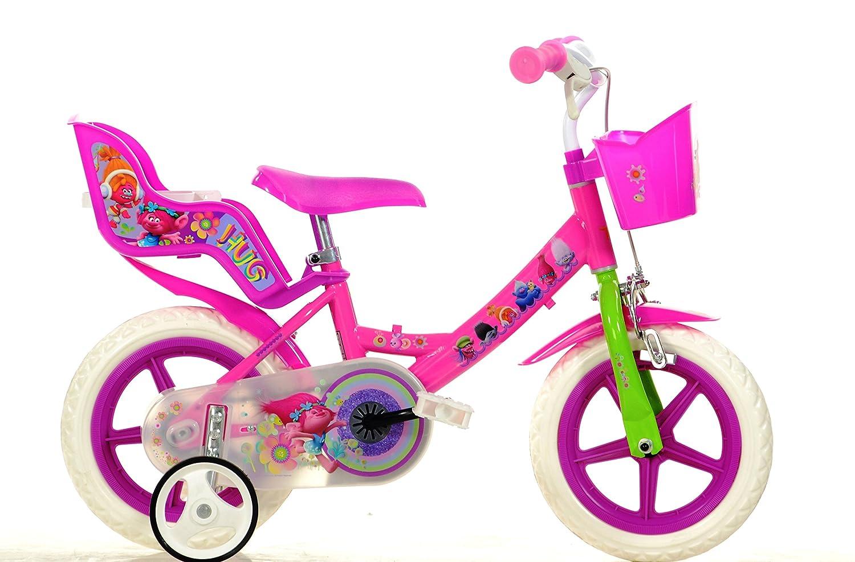 c14736ddd2a9d Dino Bikes 124 RL-TRO 12-Inch Trolls Bicycle  Amazon.co.uk  Toys   Games