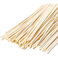 VFULIE 100 Pieces Reed Diffuser Sticks, 3mm Thick Natural Wood Rattan Reed Sticks Aroma Diffuser Sticks Replacement for Aroma Fragrance Essential Oil Diffuse