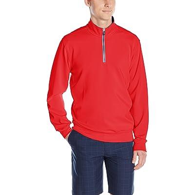 Fairway & Greene Men's Caves Long Sleeve Tech Pullover Jacket