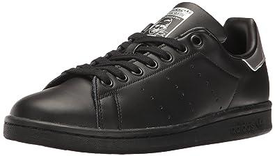 adidas Originals Women's Shoes | Stan Smith Fashion Sneakers, Black/Black/Supplier  Colour