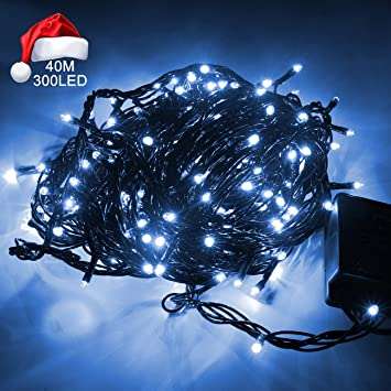 christmas led strip lights alanda 300 led timer lights 8 modes bright outdoor string lights for
