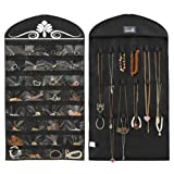 Amazon Price History for:Misslo Jewelry Hanging Non-Woven Organizer Holder 32 Pockets 18 Hook and Loops - Black