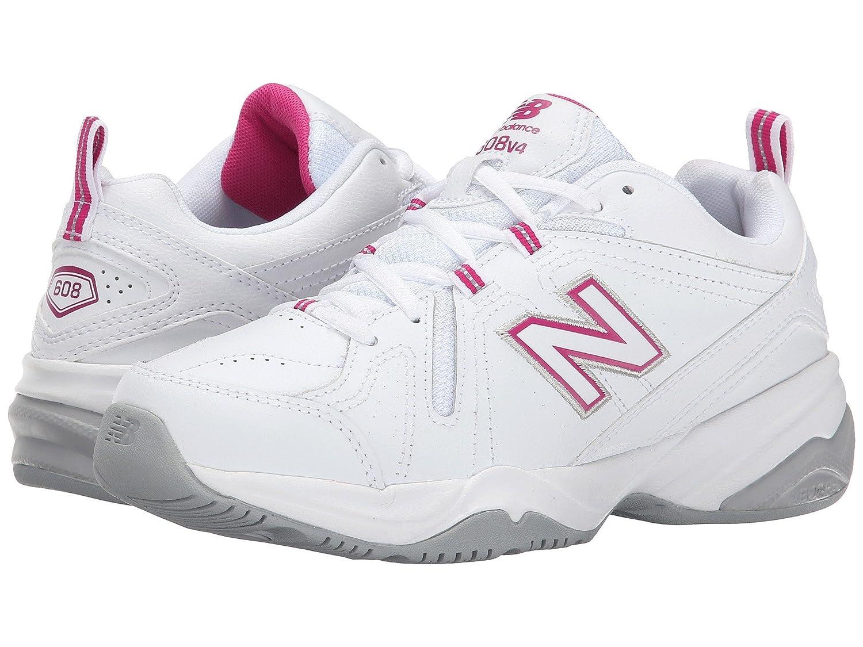 贅沢屋の (ニューバランス) White/Pink New Balance - レディーストレーニング競技用シューズ靴 WX608v4 B078FZ22SW White/Pink 8.5 (25.5cm) D - Wide B078FZ22SW, 美容オイル専門店 ナチュルネスパ:7bb61d7b --- tradein29.ru