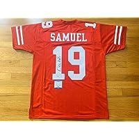 $259 » Deebo Samuel Signed Jersey - 49ers Custom Beckett Bas Witnessed Coa #wa67973 - Beckett Authentication