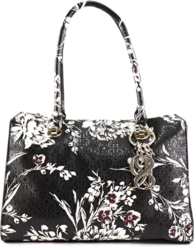 GUESS Tamra Society Carryall Black Floral: Amazon.co.uk