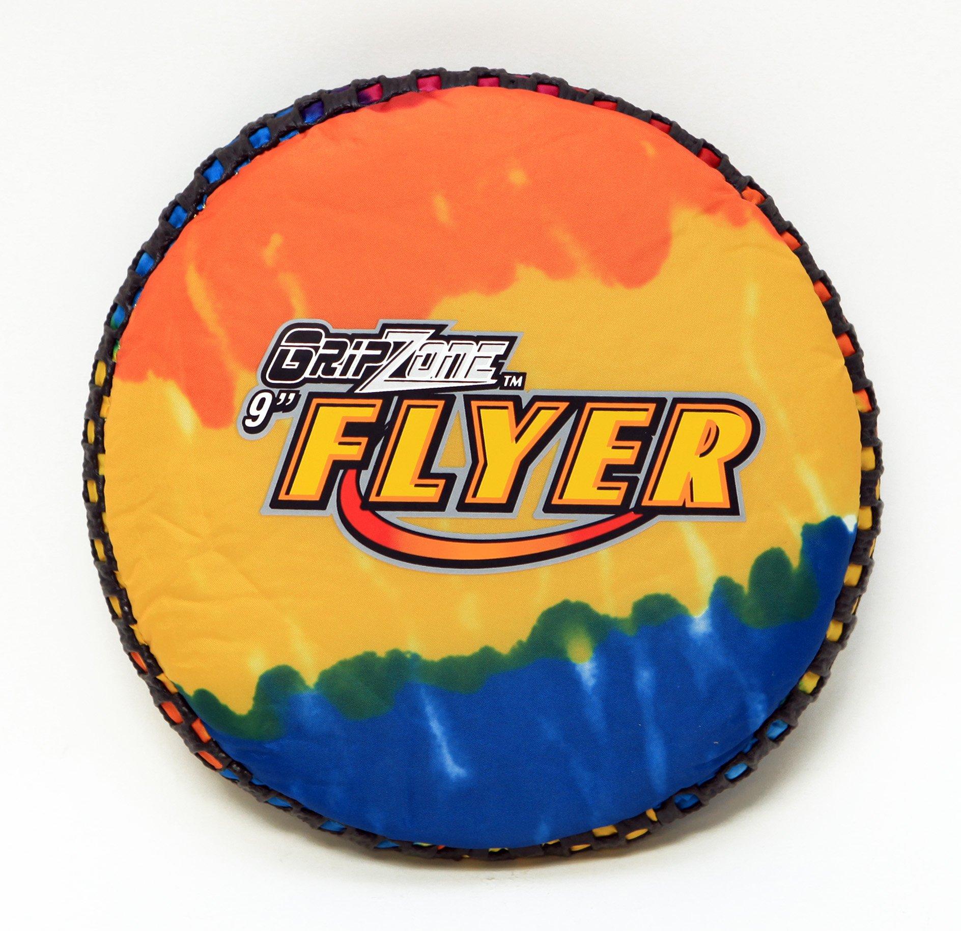 Fun Gripper (TD Tie Dye 9'' (SOFT) FLYER/FRISBEE - GREAT FOR KIDS