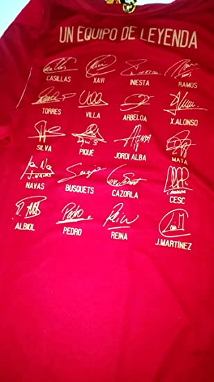 Camiseta Mundial Sel. Española Original RFEF (M) UN EQUIPO DE ...