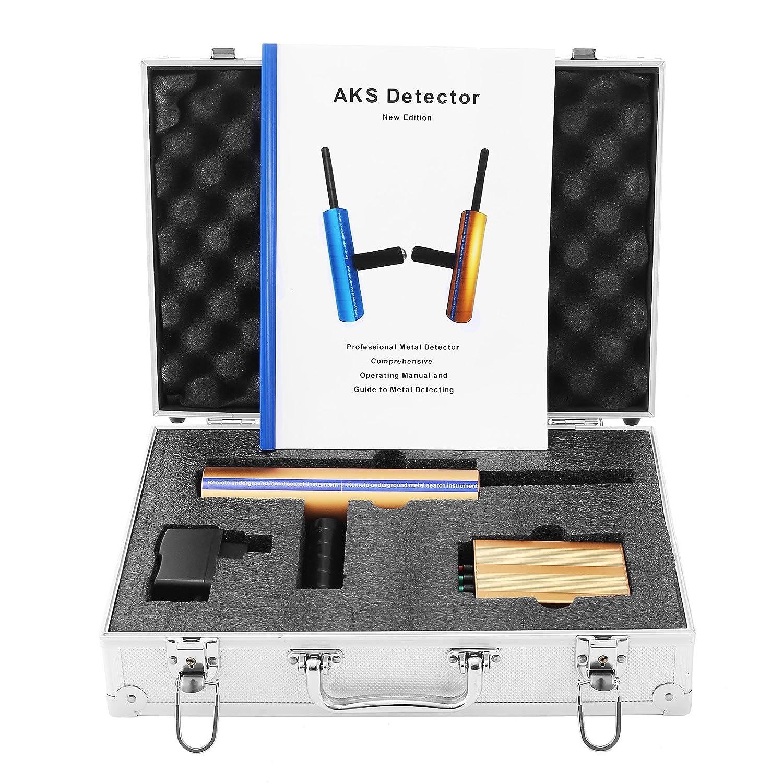 Happybuy Aks Gold Metal Detector Long Search Range Diamond 3d Professional 3280ft Detecting Depth 46ft