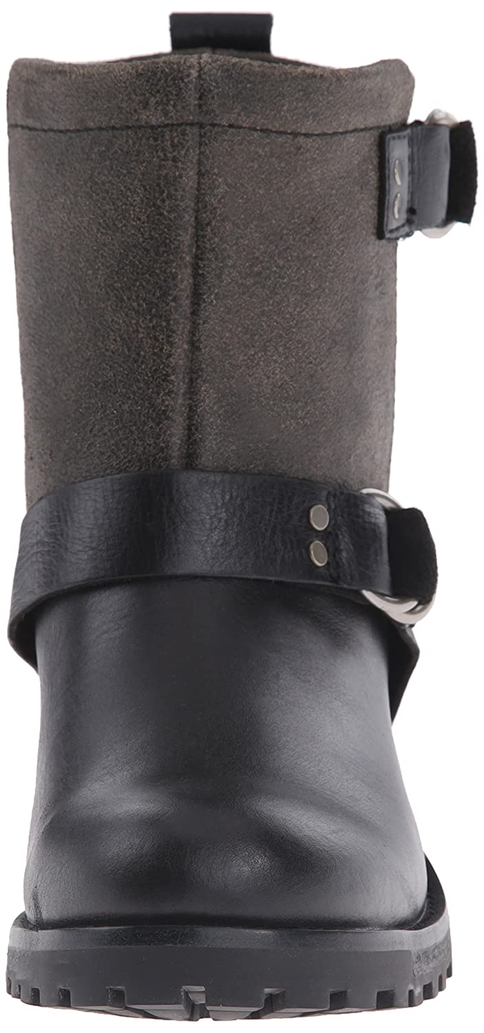 Woolrich Women's Baltimore Harness Crackle Boot B00SA687QK 10 B(M) US|Black Crackle Harness Leather 370309
