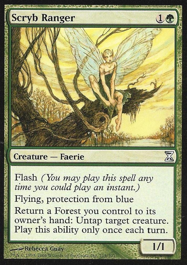 the Gathering Quirion Ranger Magic Visions Elves!