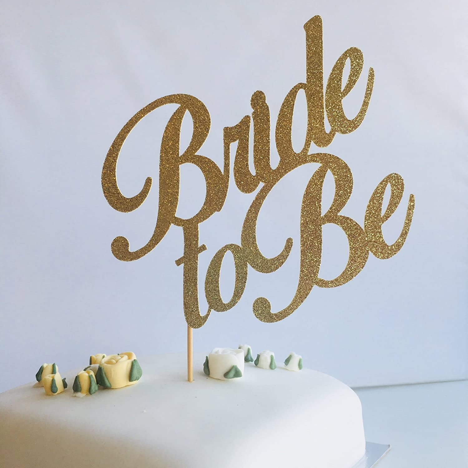Bridal shower cake decor Script party cake Bride to be cake topper Cake topper for bachelorette parties. Hen Party cake topper