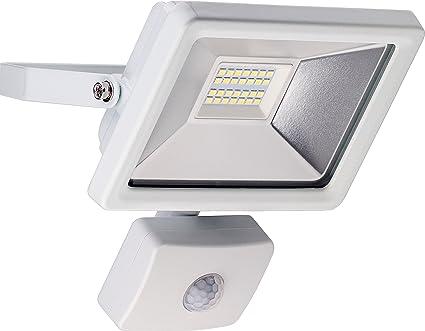 Goobay 59083 Reflector LED con Detector de Movimiento, 20 W, Blanco, 6.3 x