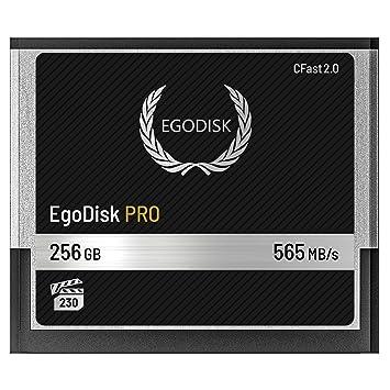 EgoDisk PRO 256GB CFast 2.0 Card - (BLACKMAGIC DESIGN URSA ...
