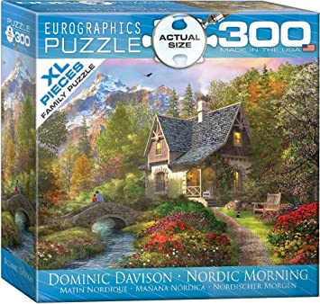 EuroGraphics Nordic Morning by Dominic Davison Puzzle (300 Piece), Small