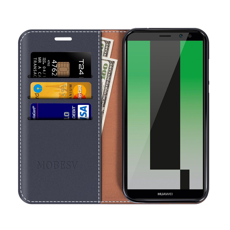 cdc728315d Amazon.com: Huawei Mate 10 Lite Wallet Case, Mobesv Huawei Mate 10 ...